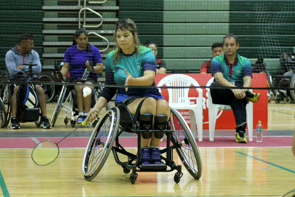 Cancino, Flores and De Vinatea strike home gold at Pan American Para Badminton Championships in Lima