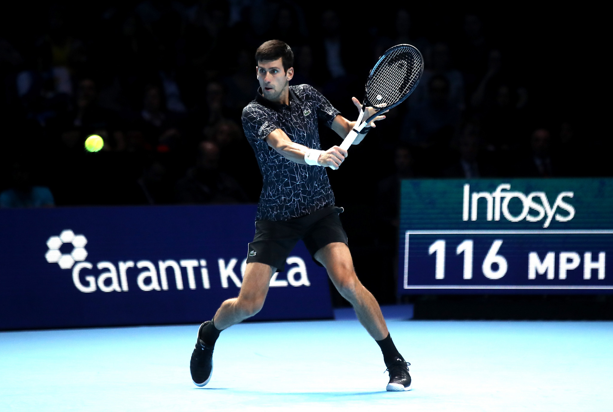 Djokovic walks tall against Isner in his opening ATP Finals group match