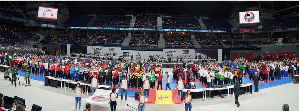 Kosovo boycotted the Opening Ceremony of the Karate World Championships following the ruling from the Spanish Government ©WKF