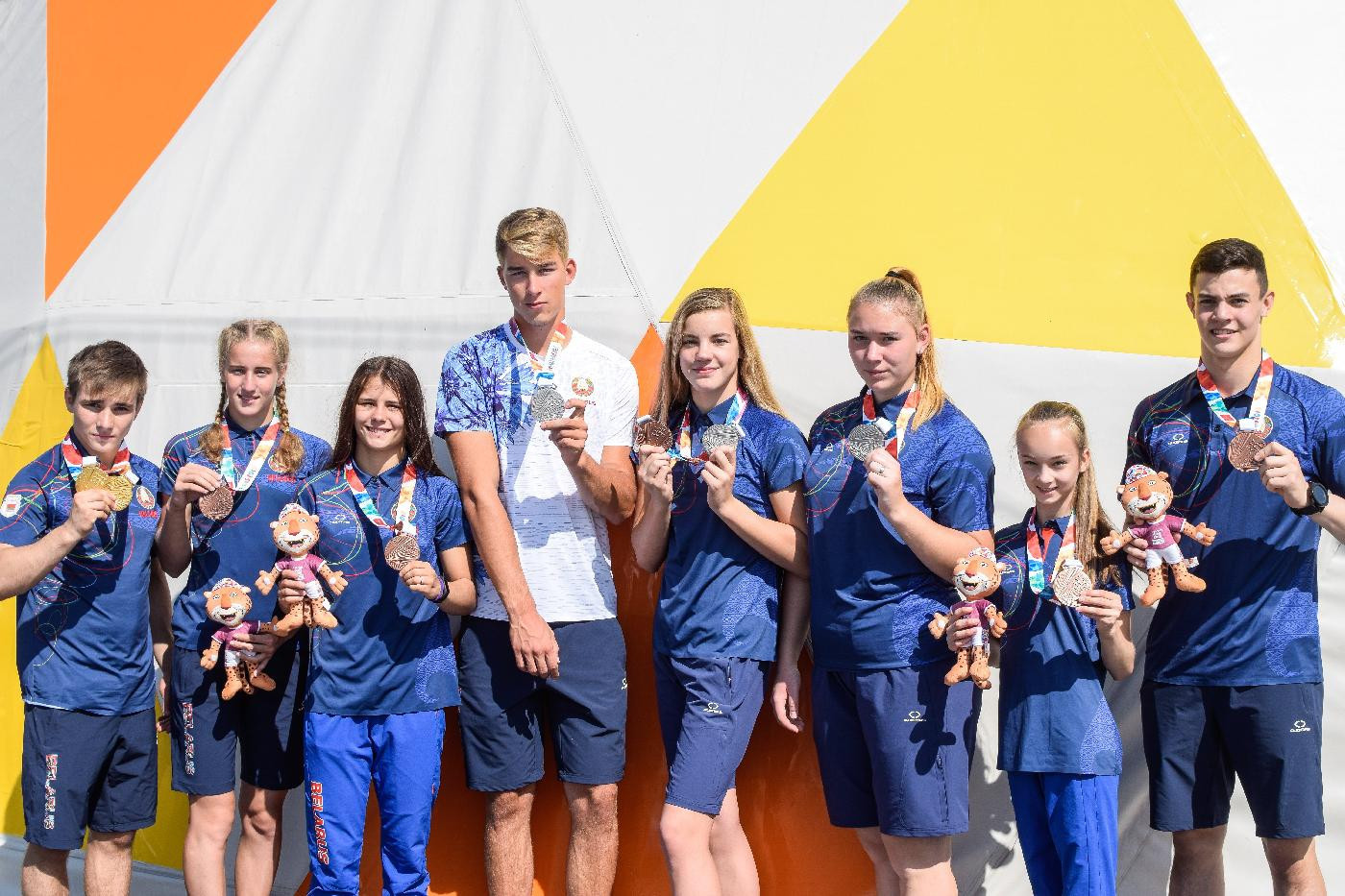 All eight Belarus athletes that won medals at the Summer Youth Olympic Games in Buenos Aires last month are to be honoured during a special ceremony organised by the National Olympic Committee ©NOC Belarus