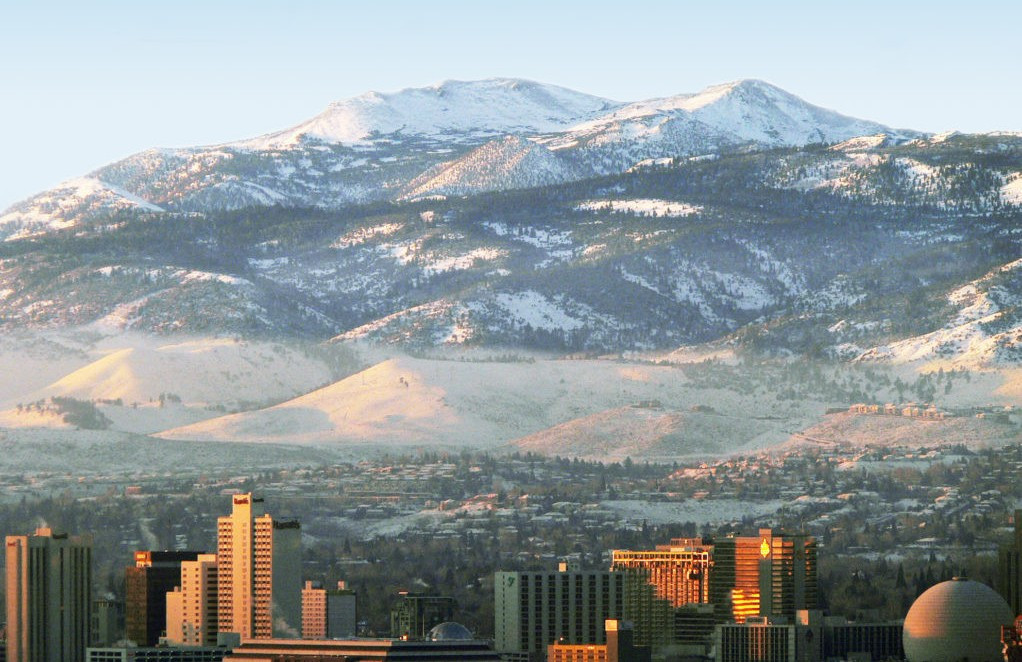 Reno-Tahoe have declined the invitation to form a bid for a potential United States Winter Olympic and Paralympic Games in 2030 ©Visit Reno Tahoe
