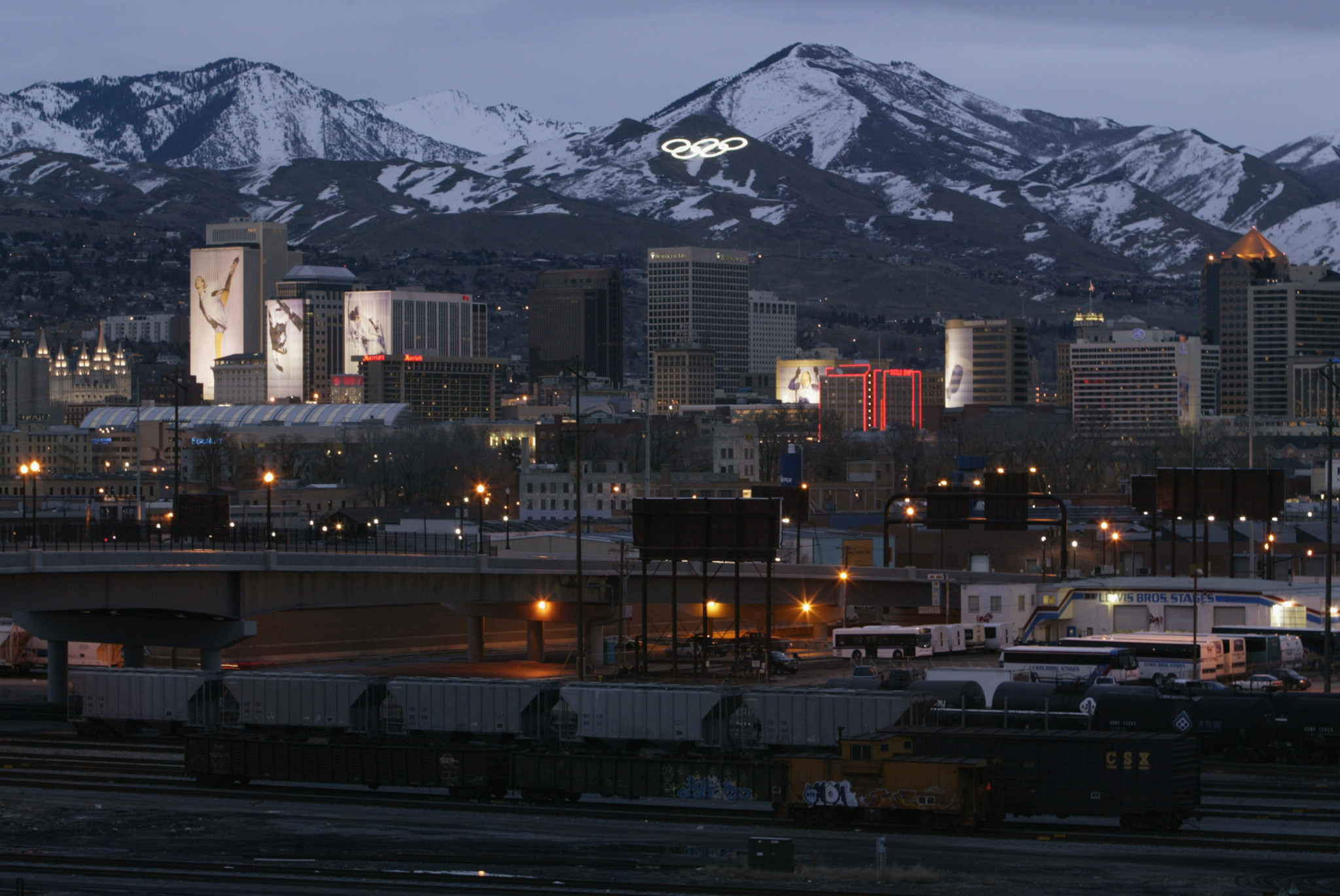 Salt Lake City hosted the Winter Olympic and Paralympic Games in 2002 and are in the running to bid again ©Getty Images