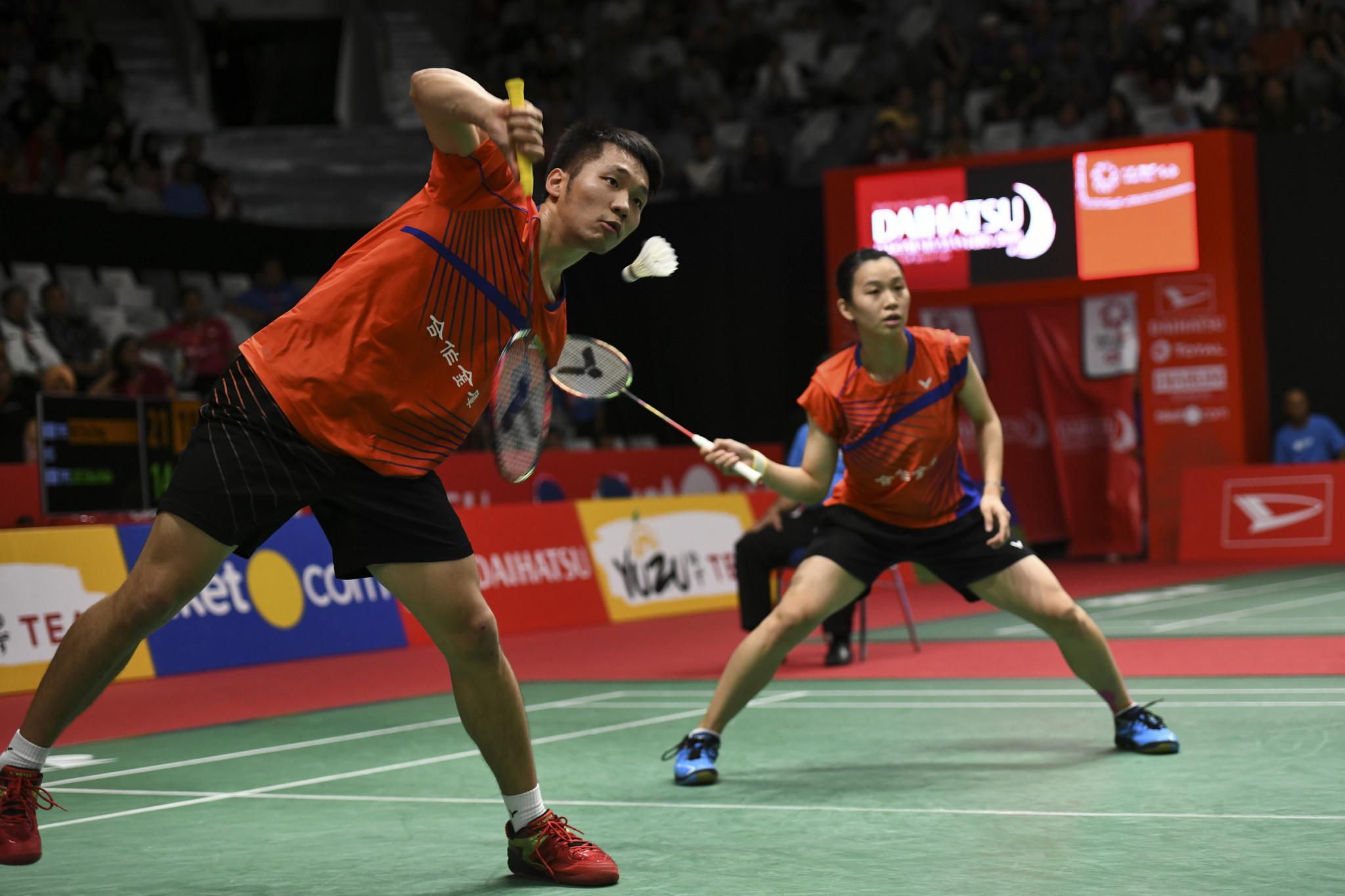 Three mixed doubles seeds out in round one at BWF Hong Kong Open