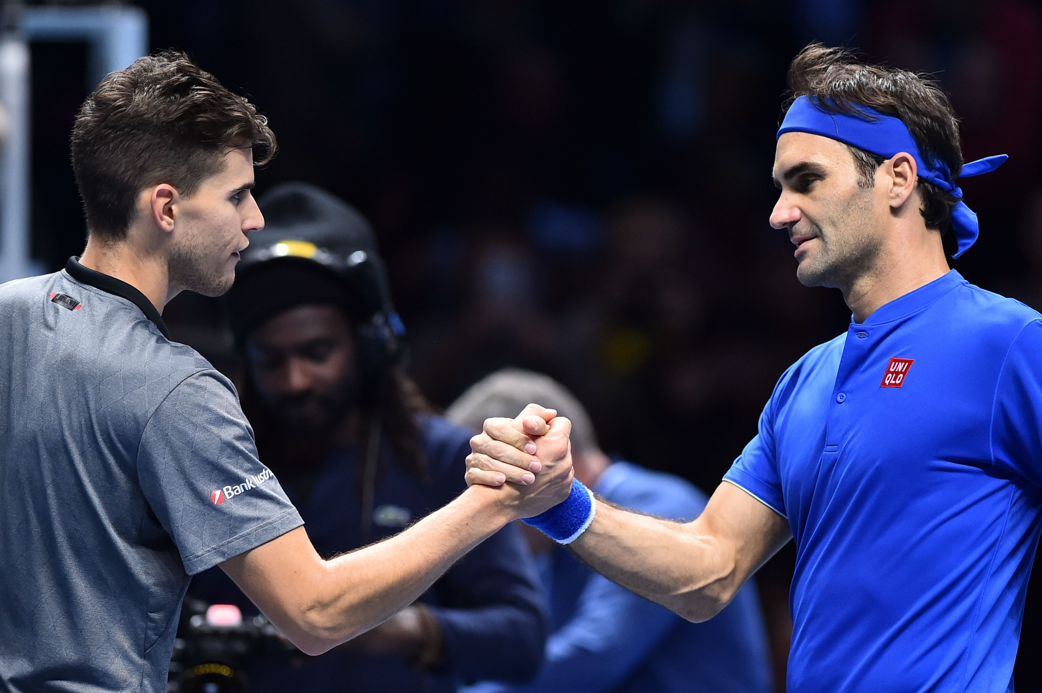 Federer restores ATP Finals fortunes with win over Thiem