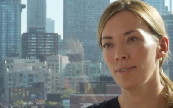 Beckie Scott claimed she was bullied by Olympic Movement representatives during the meeting ©BBC