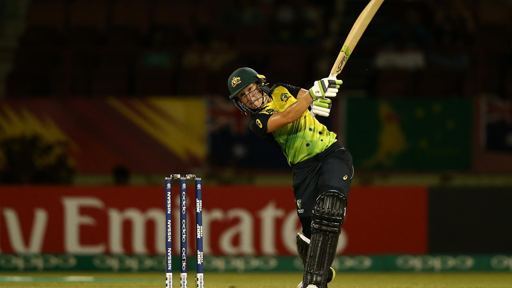 Australia's Alyssa Healy is off to a great start at the ICC Women's World T20  with three wins and three Player of the Match awards ©ICC Women's World T20