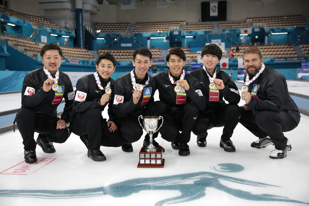 After Japan won the Asia-Pacific Curling Championships they have qualified for next year's men's World Championships ©World Curling