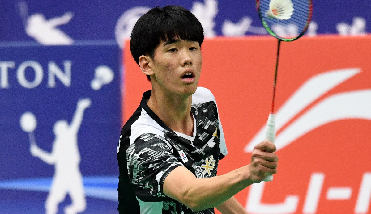 South Korea's Park earns surprise win over seventh seed at BWF World Junior Championships