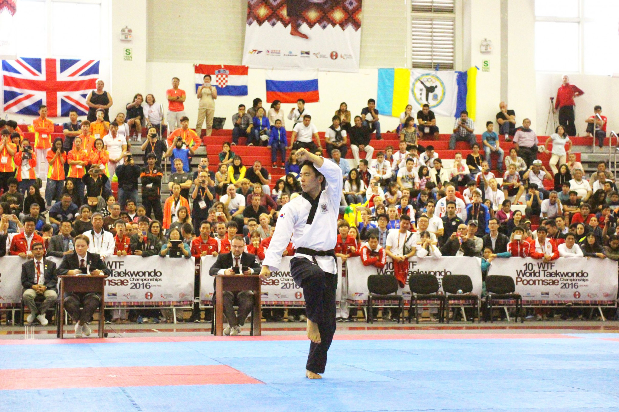 A total of 1,274 from 59 countries will participate in the World Taekwondo Poomsae Championships starting tomorrow in Chinese Taipei ©WT