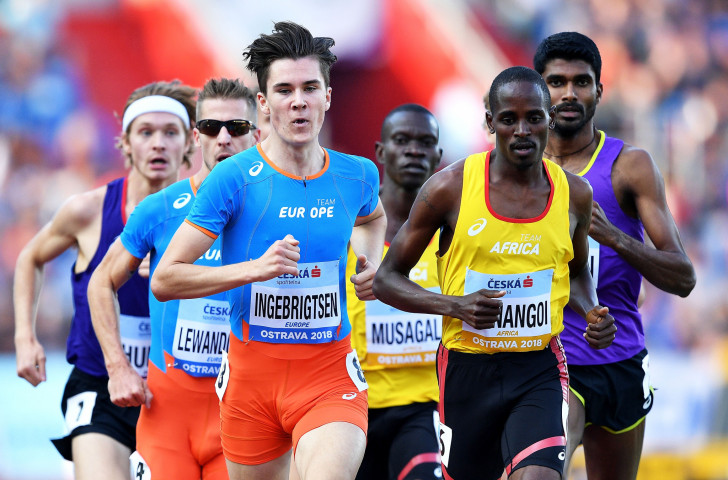 Norway's Jakob Ingebrigtsen, winner of the European 1500m and 5,000m titles this summer, is among five athletes nominated for the IAAF Male Rising Star award that will be made in Monaco next month ©Getty Images