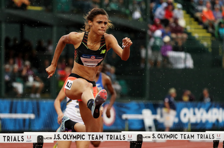 America's Sydney McLaughlin, one of five nominations for the IAAF Female Rising Star award for this year, set a world under-20 record of 52.75 for the 400m hurdles ©Getty Images