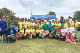 The Samoa Association of Sports and National Olympic Committee joined forces with the country's Ministry of Health to help organise the second annual Physical Activity and Nutrition Expo ©Samoa Ministry of Health