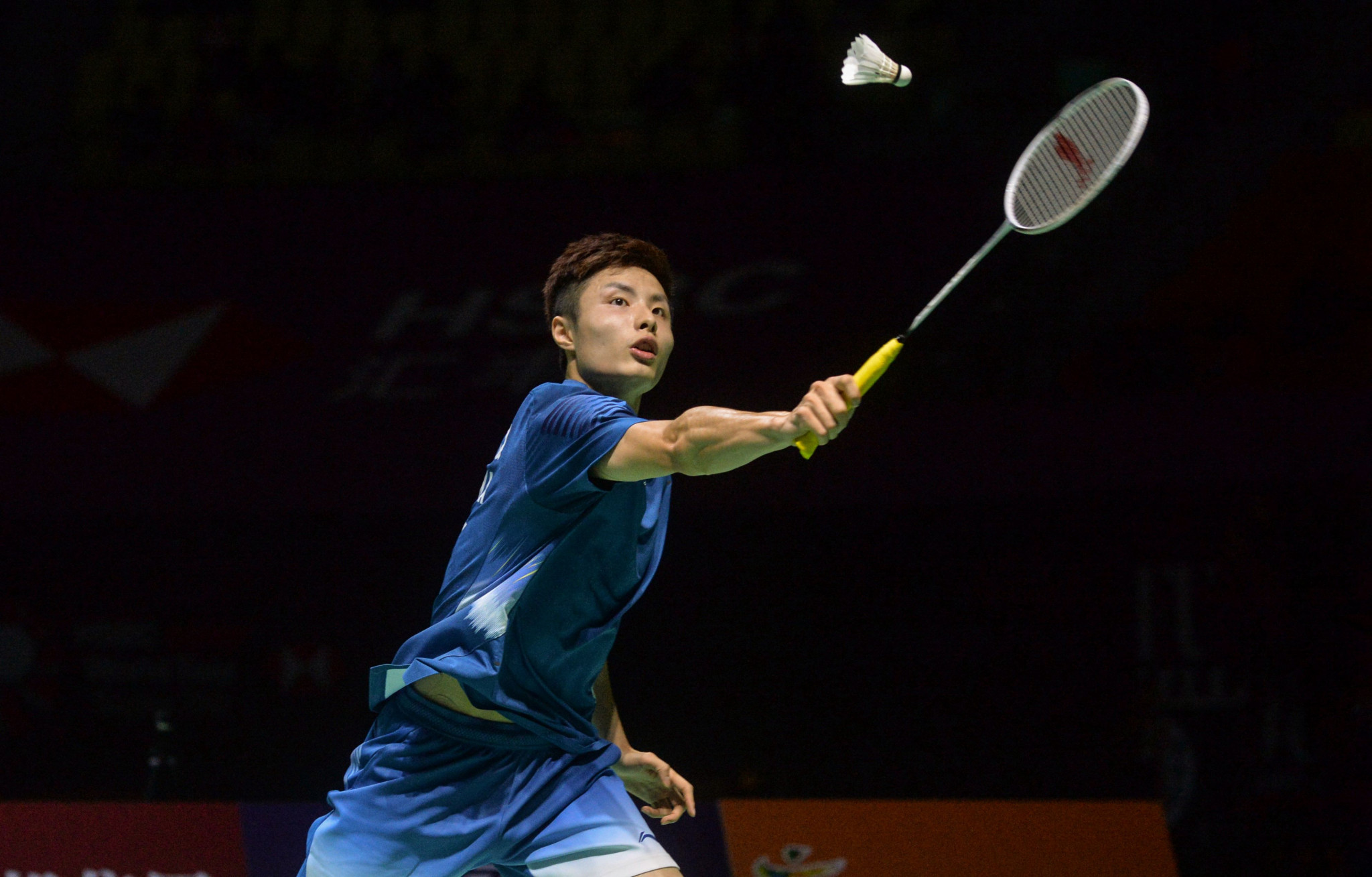 China's second seed Shi Yuqi was forced to concede his first round match at the BWF Hong Kong Open to local favourite Lee Cheuk Yiu because of injury ©Getty Images