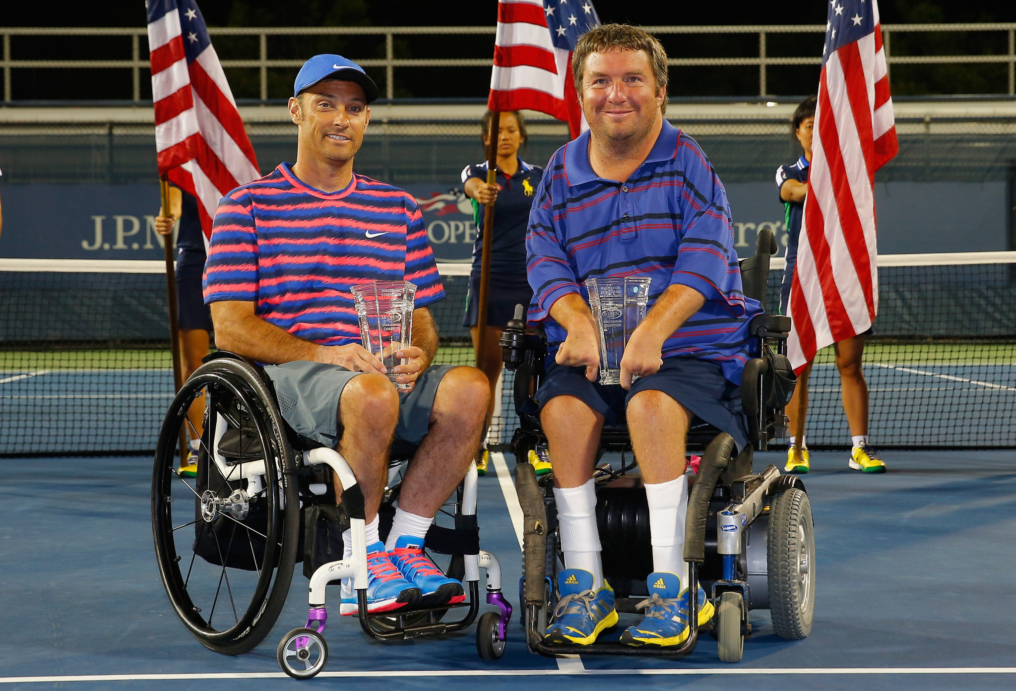 Americans Nicholas Taylor and David Wagner are the 10-time champions and the ones to beat as they made a stellar start to 2018 campaign at the Wheelchair Doubles Masters ©Getty Images