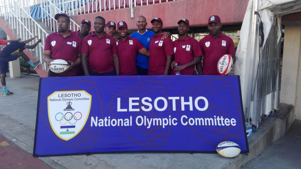 Lesotho National Olympic Committee host World Rugby technical courses