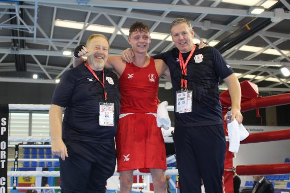 England march on in second round of quarter-fnals at EUBC European Union Boxing Championships