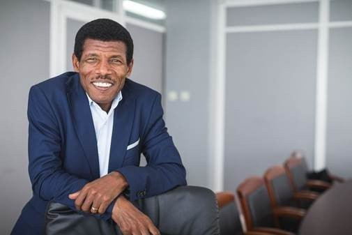 Haile Gebrselassie, pictured after winning the election to become President of the Ethiopian Athletics Federation - a position from which he resigned this week ©Global Sports Communications