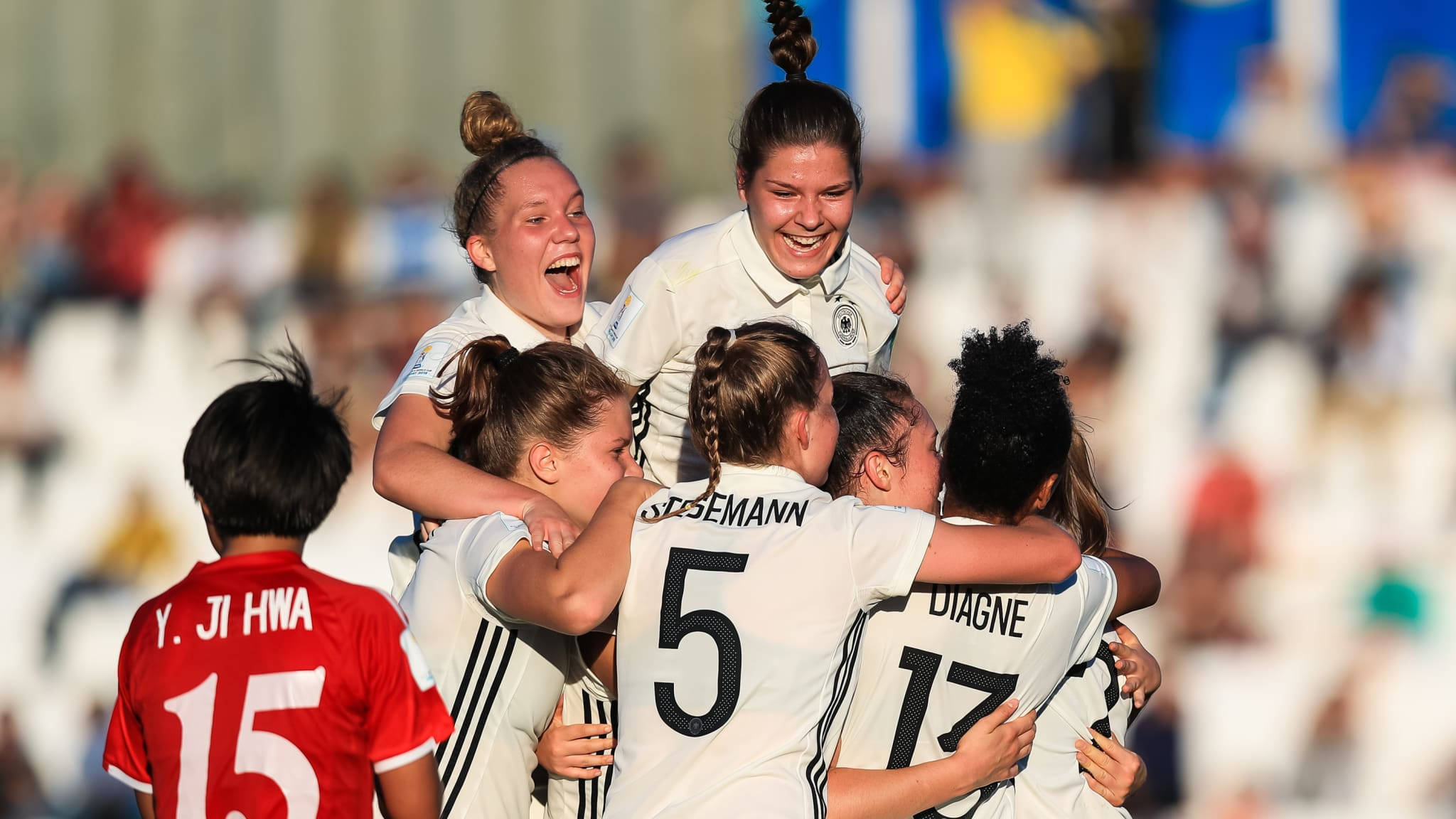 Germany beat defending champions as group stages continue in FIFA under-17 Women's World Cup