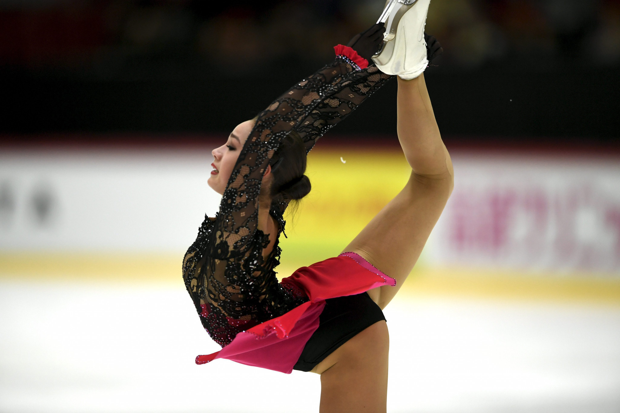 Russia's Alina Zagitova competes at her home Grand Prix after winning the Olympic gold medal at Pyeongchang 2018 ©Getty Images