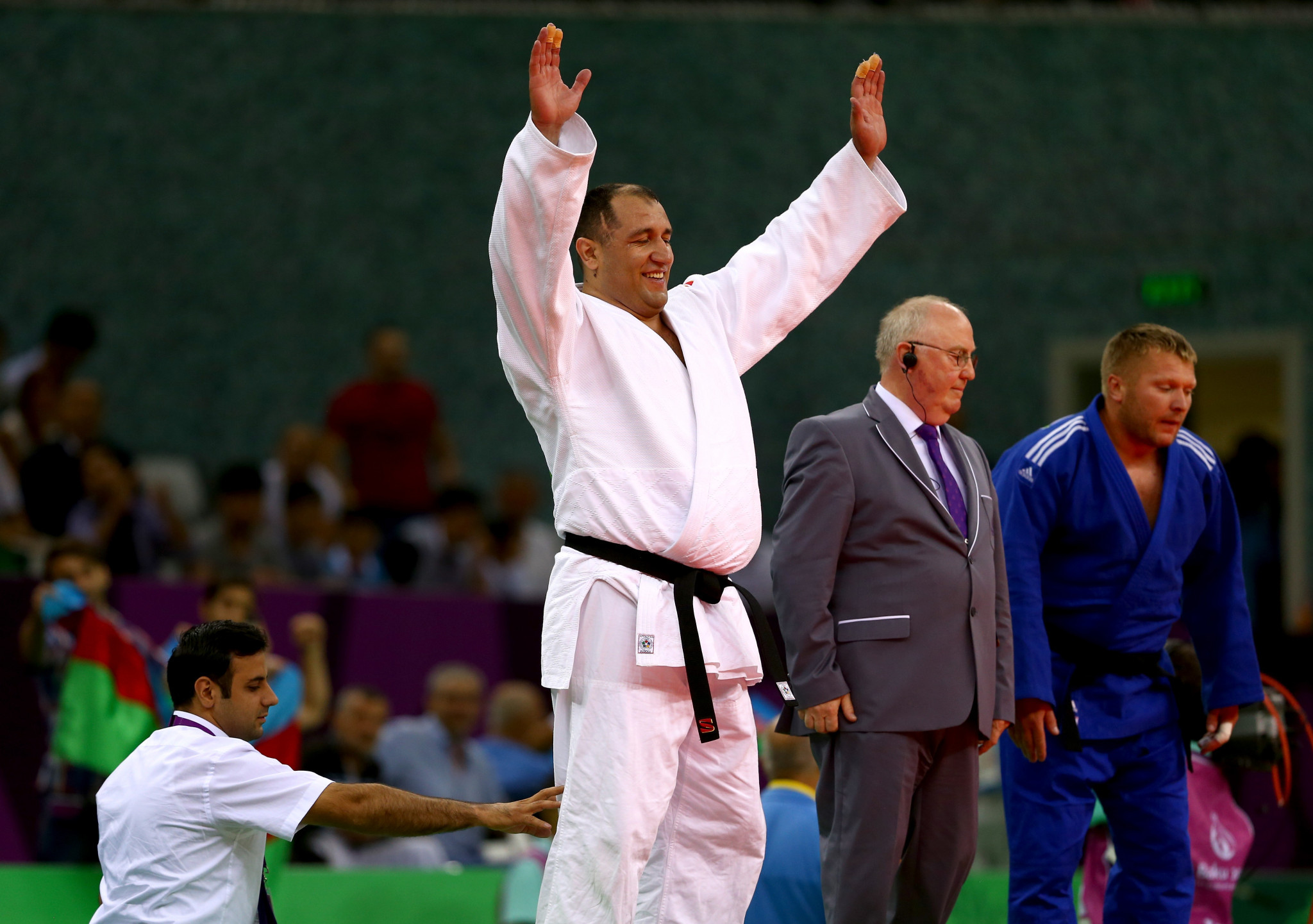 Azerbaijan's Ilham Zakiyev is a member of the International Judo Federation's Hall of Fame and looks to qualify for his fifth Paralympic Games at the IBSA Paralympic qualification on offer at IBSA Judo World Championships in Portugal ©Getty Images
