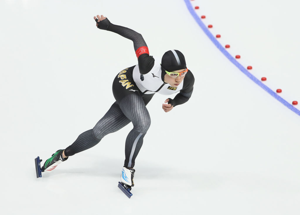 Japan's Nao Kodaira has set the fastest pre-season time in the women's 500m ahead of the first leg of the ISU World Cup Speed Skating at the Hokkaido Tokachi Oval in Obihiro ©ISU