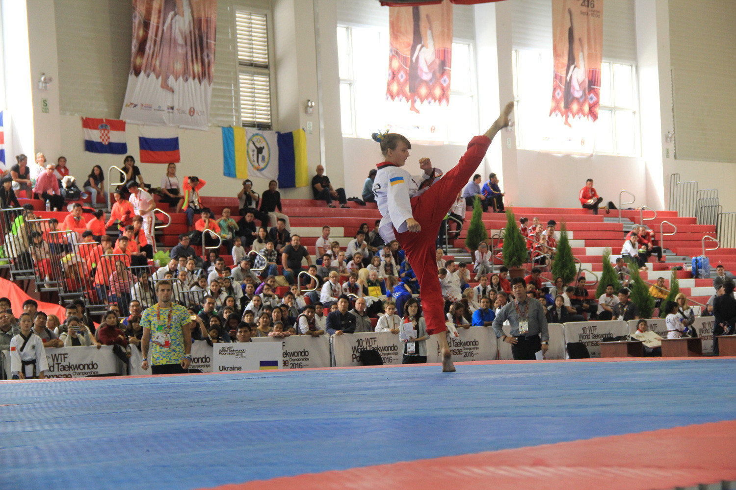 Munoz claims early gold for United States as record World Taekwondo Poomsae Championships get underway in Taipei