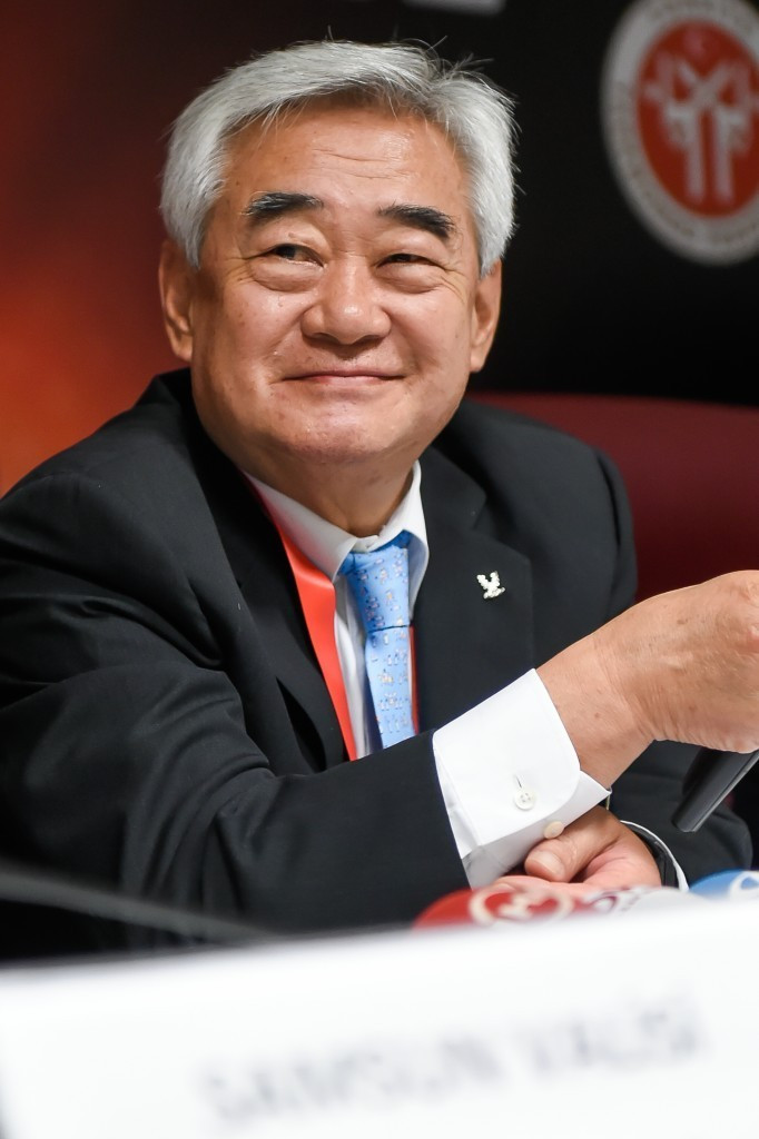 WTF President Chungwon Choue is hoping to inspire more people to get involved in Para-taekwondo