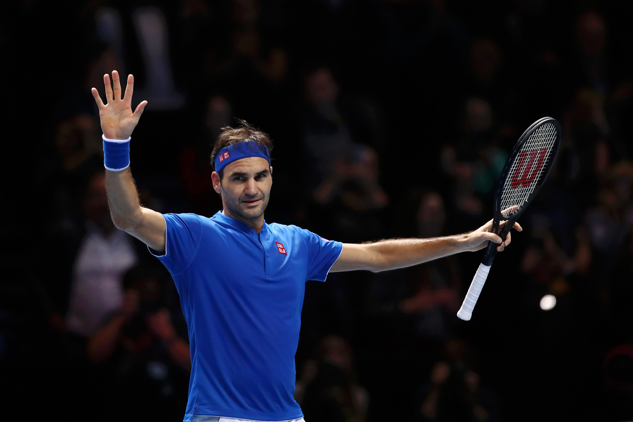 Federer beats Anderson to reach ATP Finals last four as group winner
