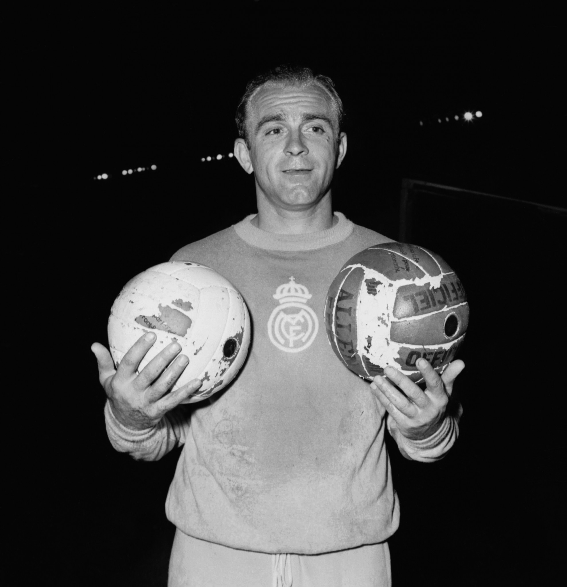 Legendary Argentinian Alfredo Di Stefano played for Millonarios and then Real Madrid ©Getty Images