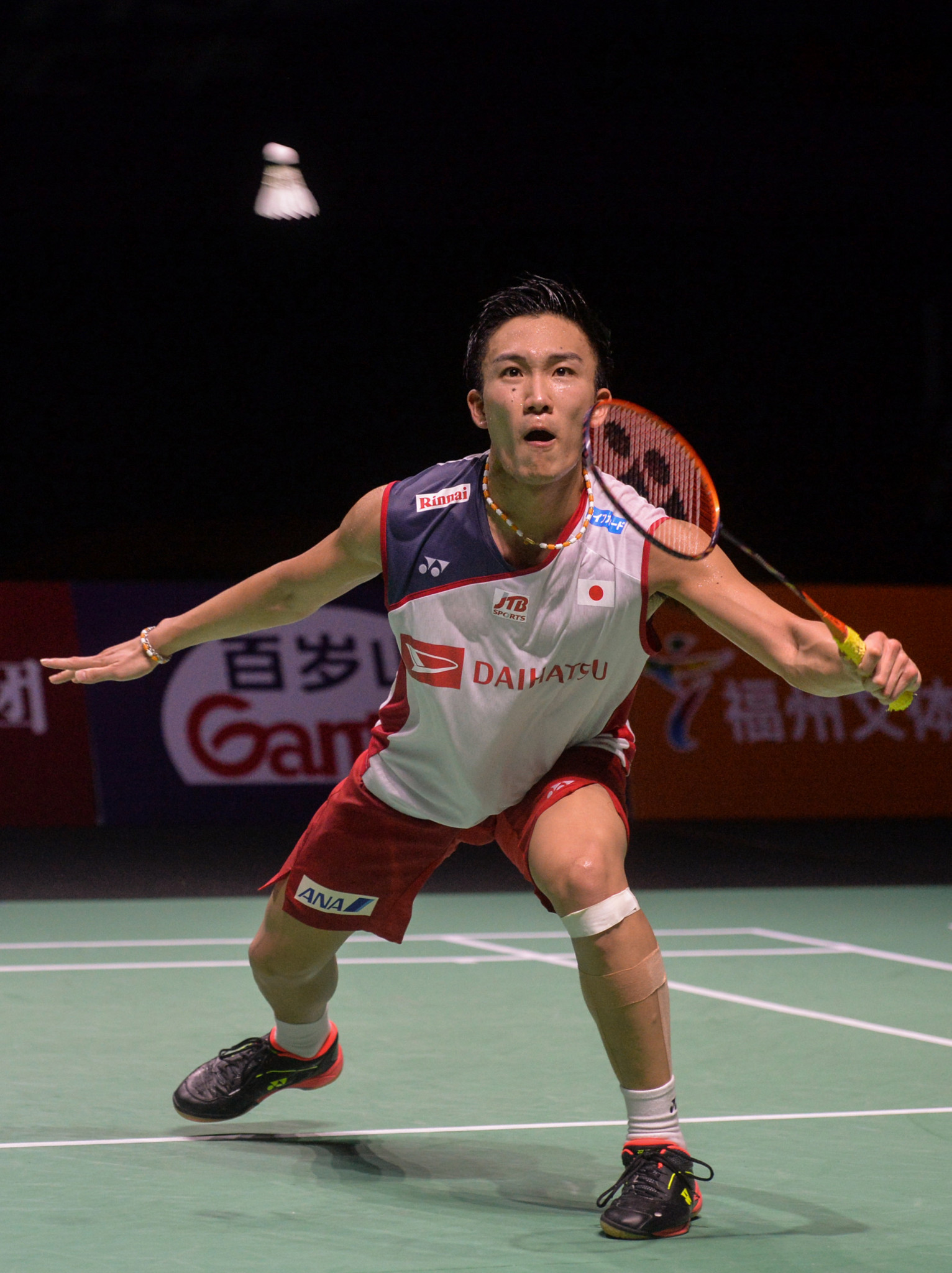 Kento Momota continued his fine run of form to reach the last four ©Getty Images