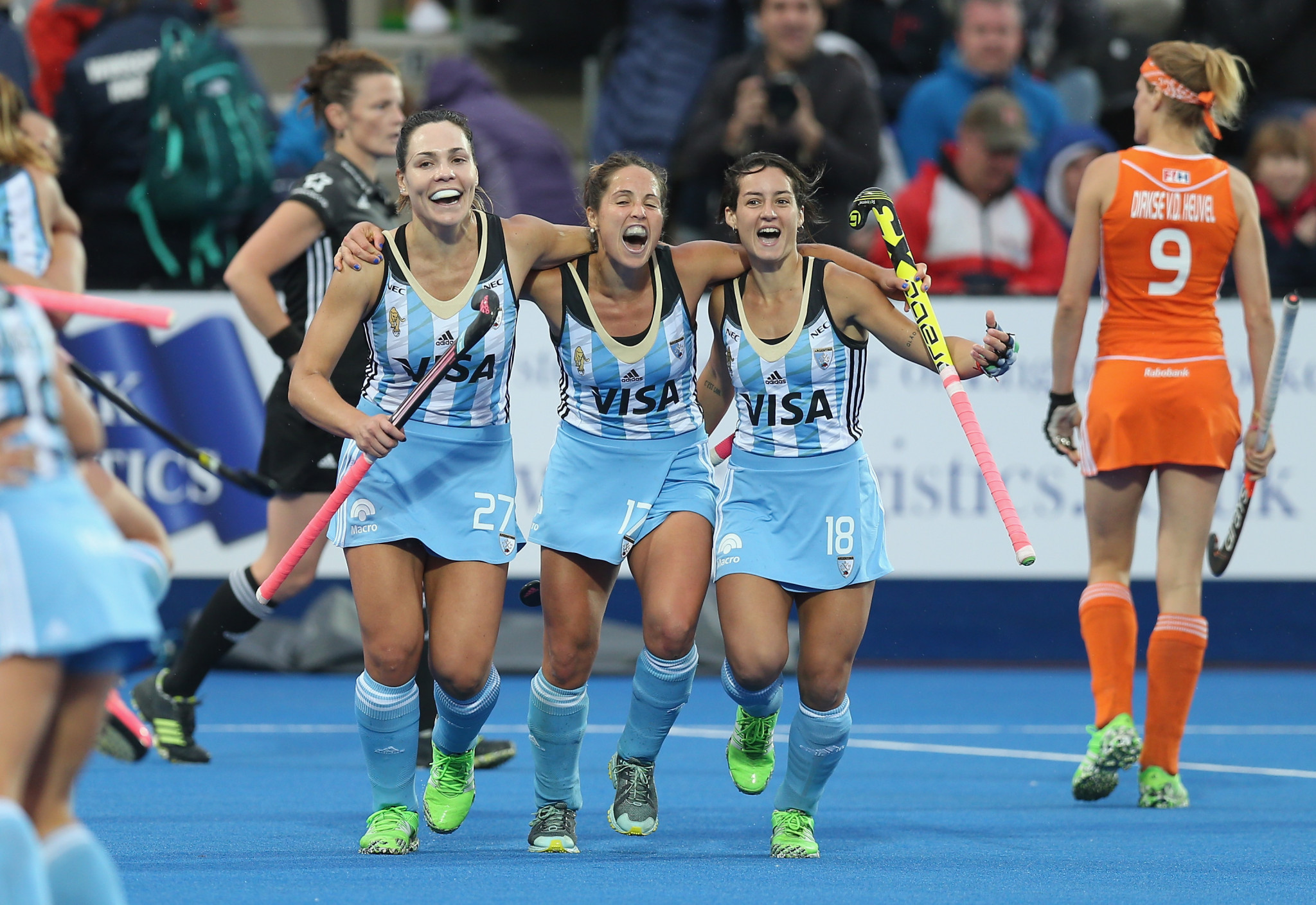 Argentina won the last Women's Hockey Champions Trophy in 2016 ©Getty Images