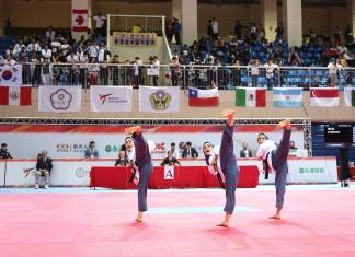 South Korea setting the standard at World Taekwondo Poomsae Championships