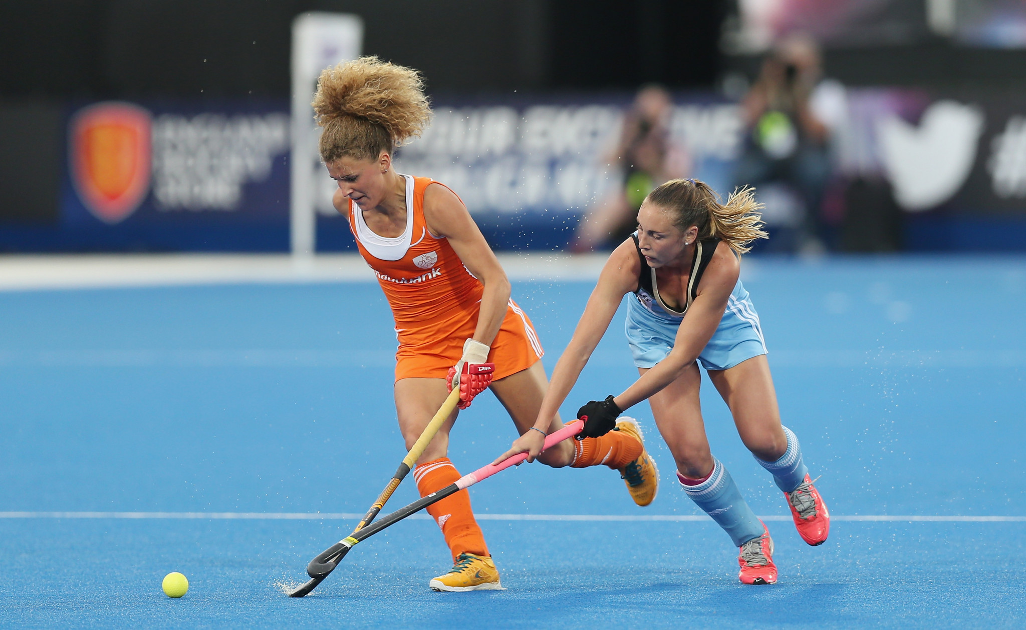 The Netherlands and Argentina are both participating in the 2018 Women's Hockey Champions Trophy which begins tomorrow in China ©Getty Images
