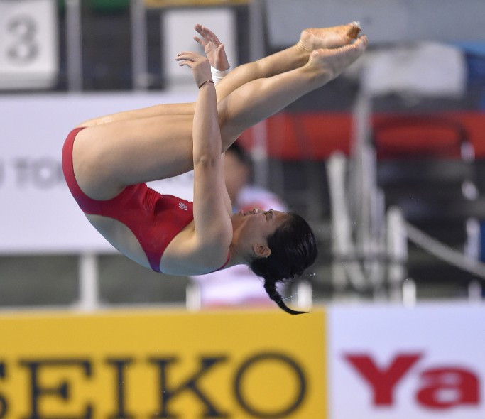 Huang eases into springboard final at FINA Diving World Cup in Gold Coast