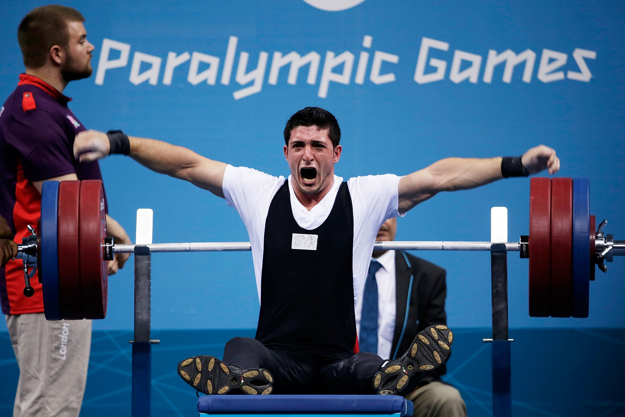 Syria's Shadi Issa has been suspended from powerlifting for two years after a prohibited substance was found in his urine sample ©Getty Images