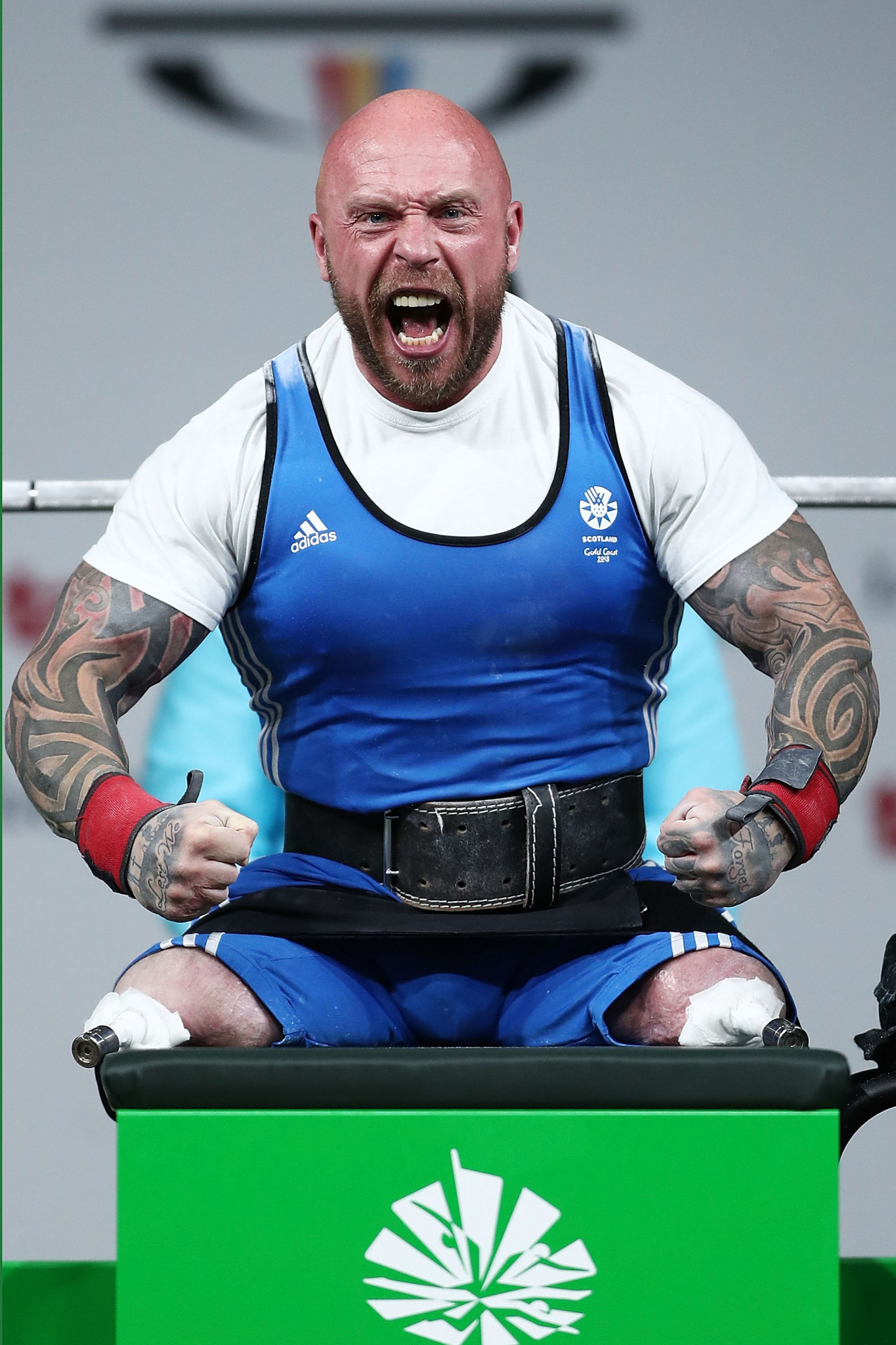 Great Britain's Michael Yule will now receive Issa's silver medal from the 2017 World Para Powerlifting World Cup ©Getty Images
