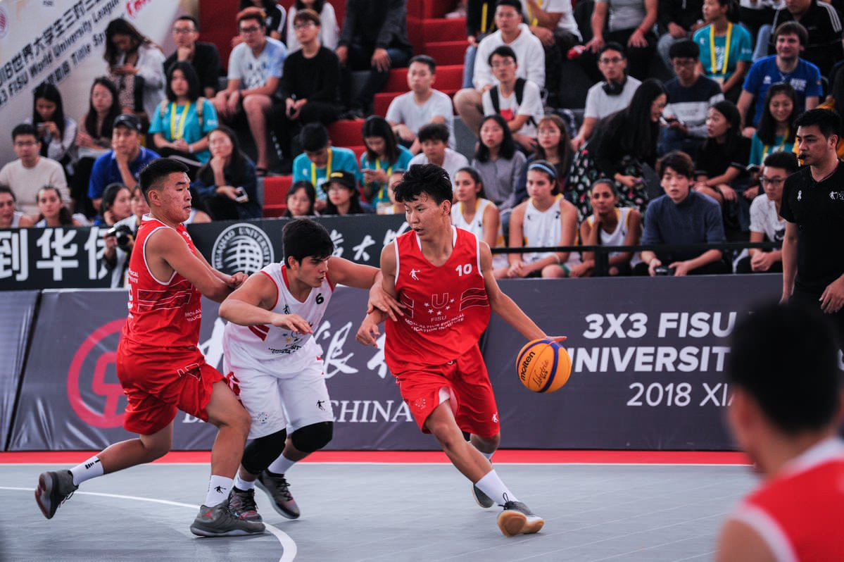 The last-16 in the men's and women's competitions at the 3x3 FISU World University League Finals in Xiamen have been decided ©FISU