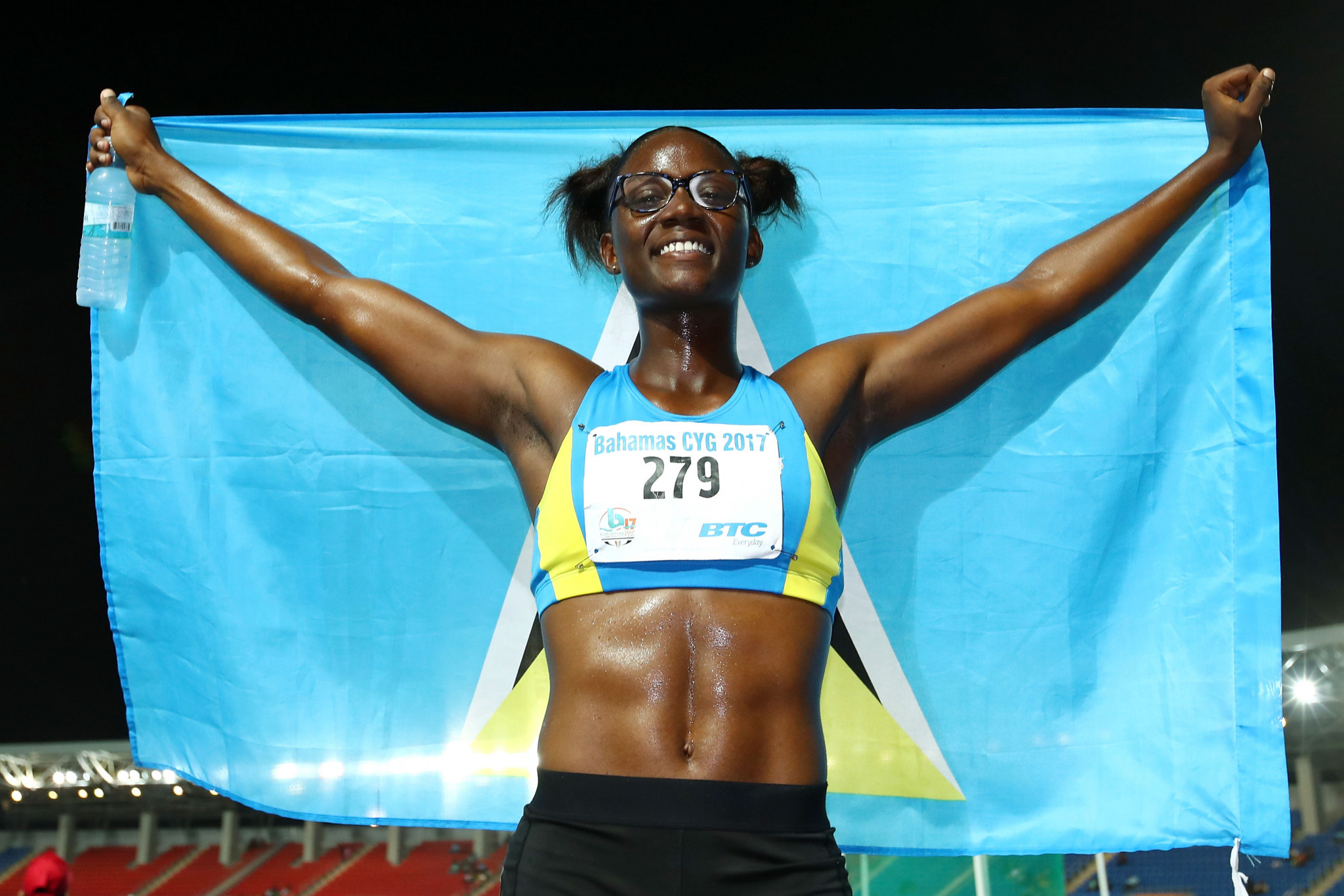 Saint Lucia Olympic Committee praises young sprinter Julien Alfred