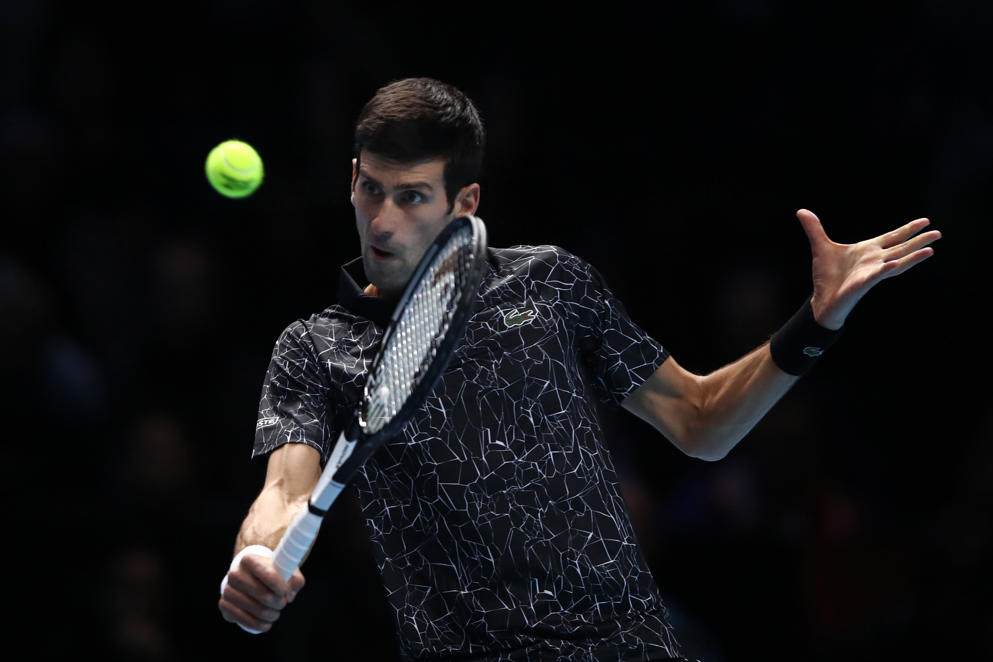 World number one Novak Djokovic will face Kevin Anderson in the semi-finals ©Getty Images