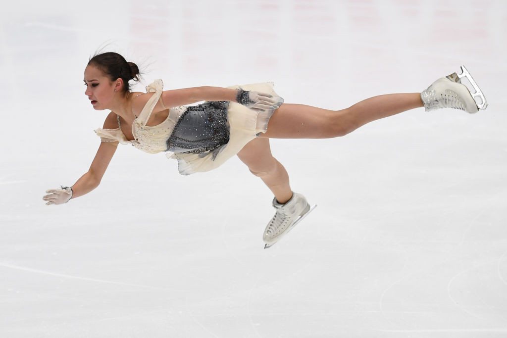 Russia in pole position for medals after day one of ISU Grand Prix of Figure Skating