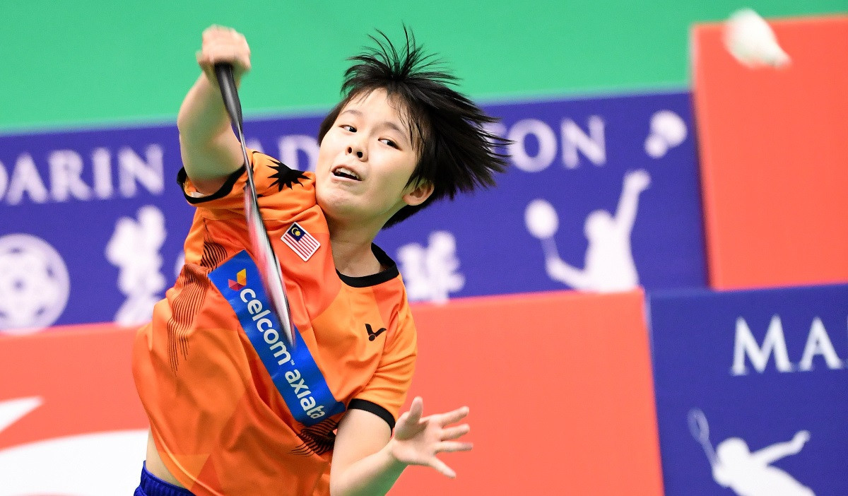 Youth Olympic champion Goh Jin Wei is into the women's singles semi-finals at the BWF World Junior Championships ©BWF