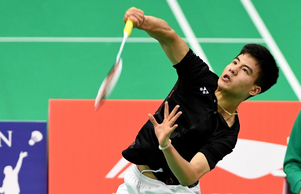 China's Li Shifeng advanced to the men's semis with a win over Ireland's Nhat Nguyen ©BWF