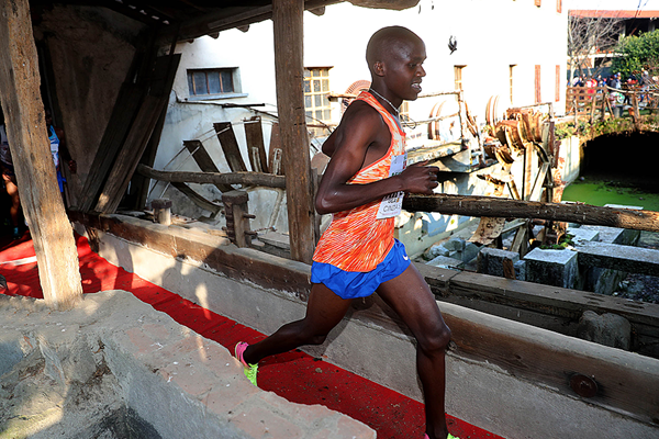 Uganda's Jacob Kiplimo is the favourite for this weekend's race in northern Spain ©IAAF