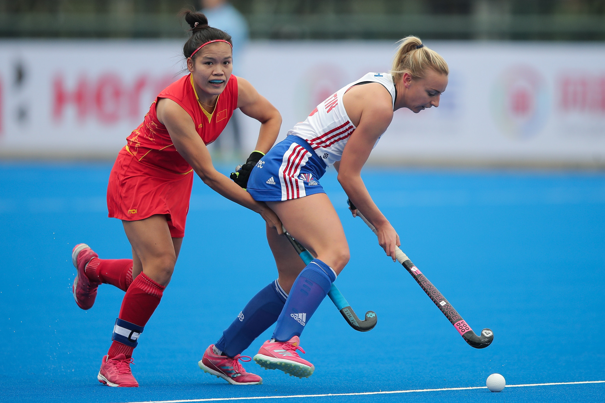 Hosts draw with Olympic champions at FIH Women's Hockey Champions Trophy
