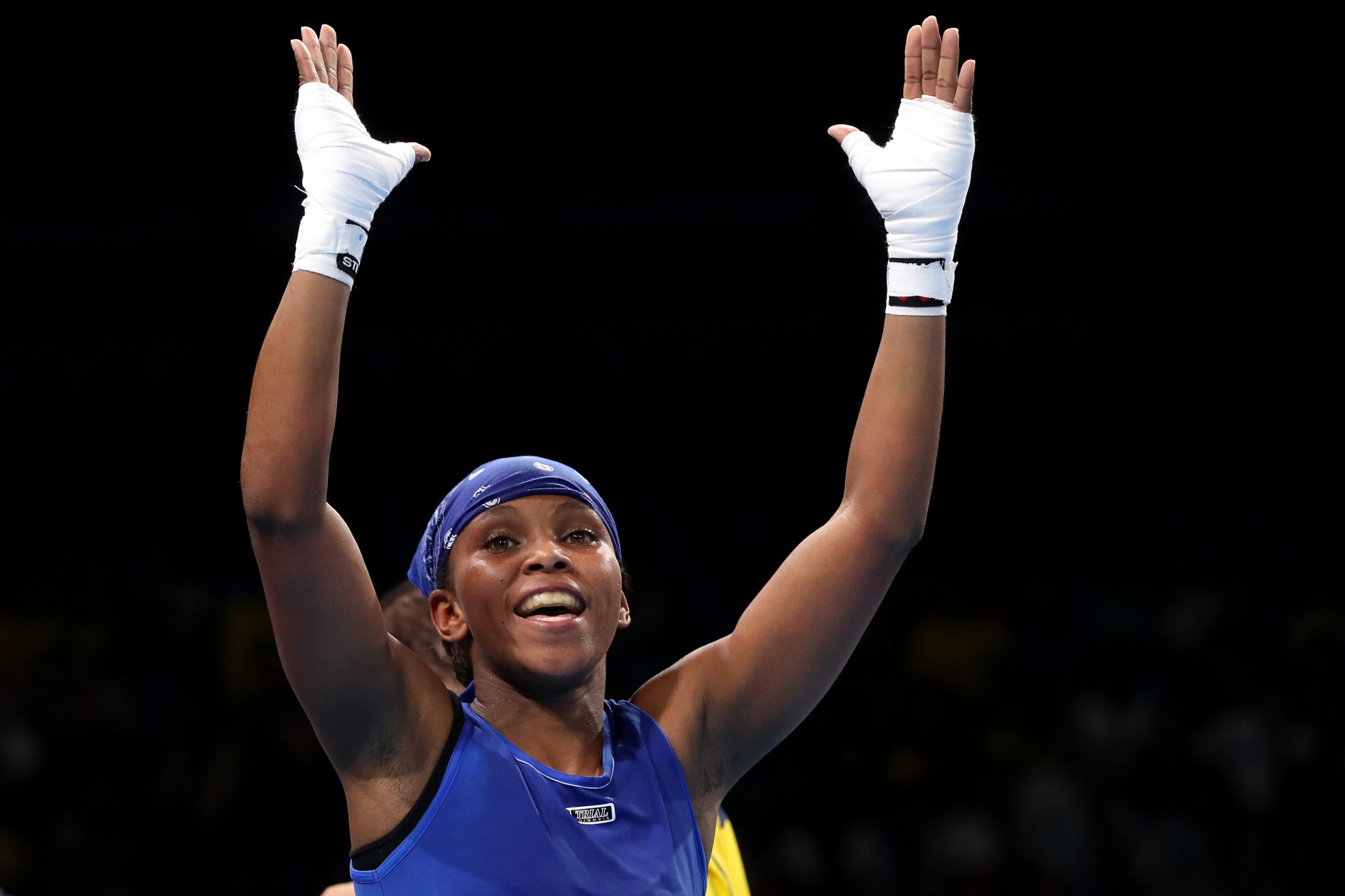 Olympic bronze medallist wins opening bout at AIBA Women's World Boxing Championships in New Delhi