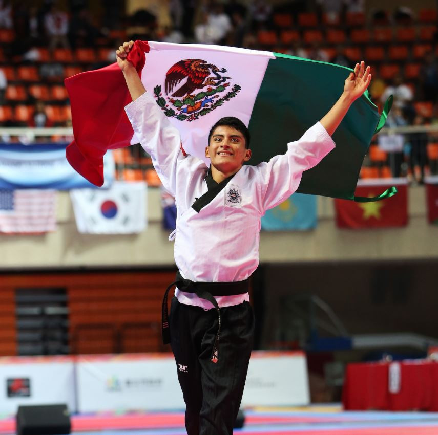 Mexico were one of the few other countries to pick up a medal today ©World Taekwondo