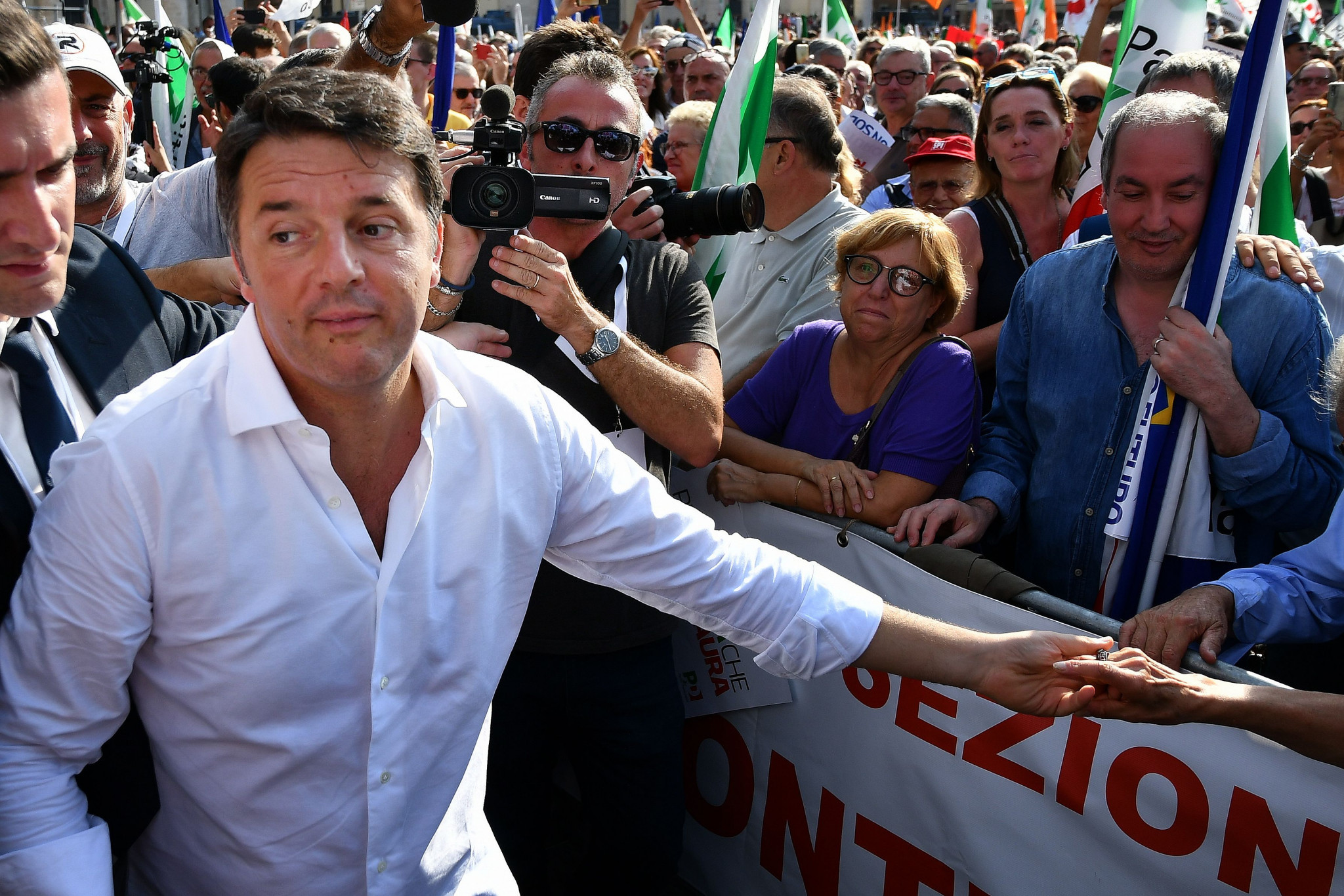 Italy's Prime Minister Matteo Renzi claimed bidding for the Olympic Games was an