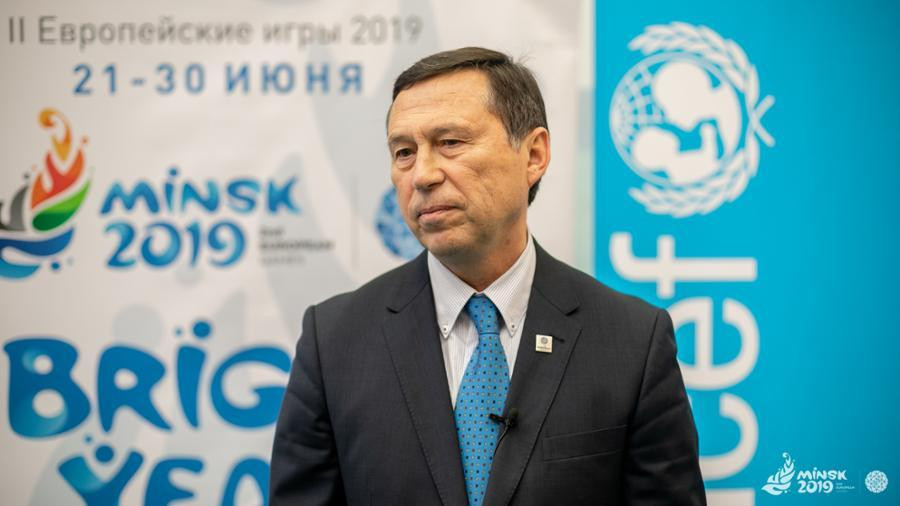 Minsk 2019 chief executive George Katulin said they cannot overemphasise the importance of language support ©Minsk 2019