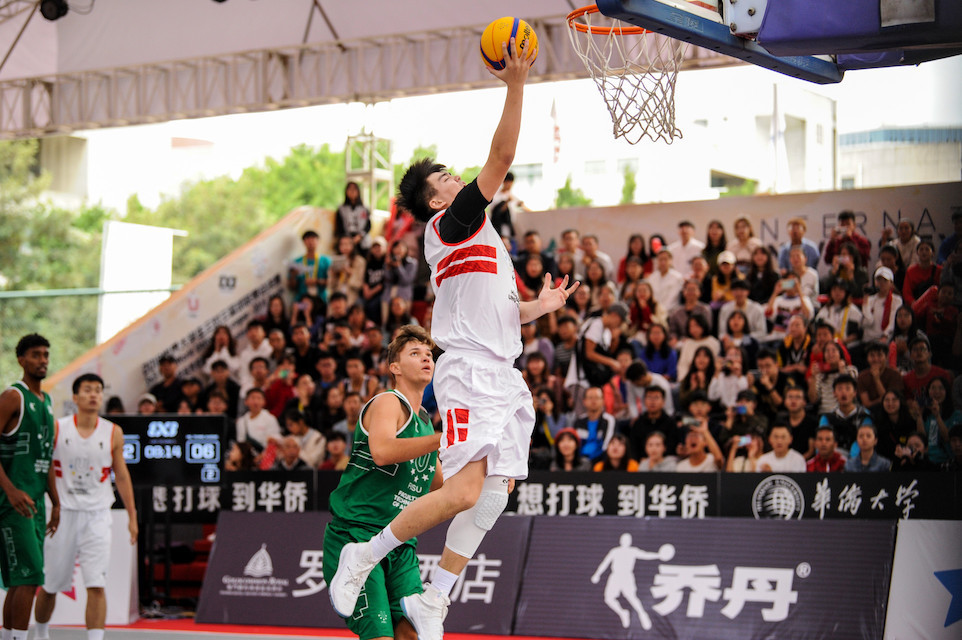 Home team Huaqiao University still undefeated at 3x3 FISU World University League Finals