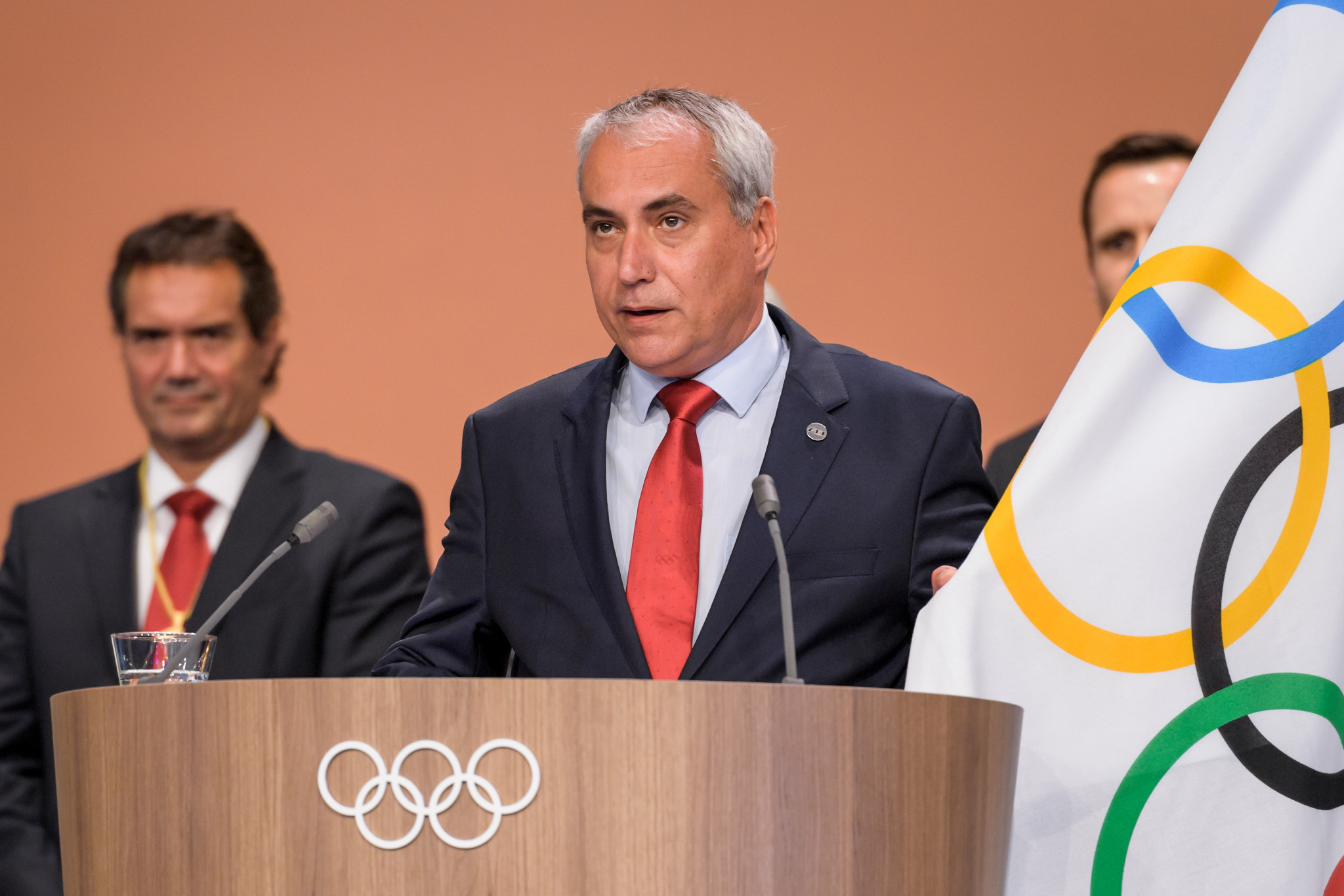 Ingmar De Vos became a member of the International Olympic Committee last year ©Getty Images